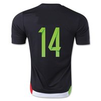 mexico - Customized Thai Quality Soccer Jerseys Mexico Away Black CHICHARITO Football Jerseys Discount Sale Soccer Jersey Shirt Tops