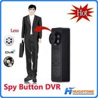 al por mayor mini digital audio video recorder-Nuevo botón Mini DV espía ocultos S918 botón de la cámara de audio y vídeo de PC DVR grabadora de voz leva DVR 1280 * 960 Videocámaras Digitales