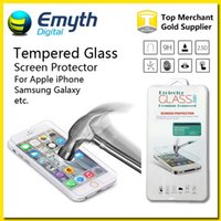 galaxy note price - Factory price Ultra Thin mm D H Tempered Glass Screen Protector For iPhone Plus Galaxy S4 S5 S6 Note with retail box