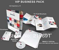 Wholesale Flyers Custom Printting Tri Fold Glossy A4 Brochures FULL COLOR Printting Flyers twise Fold