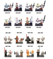 Wholesale Star Wars Clone Troopers Blocks Building Bricks Minifigures Model Toys DIY Bricks Toys Figures set Kids Christmas Gift