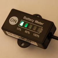 12v lead acid battery - Unicersal V V LED Battery Indicator Level Meter Gauge for Lead acid Battery Tester Poratable Battery Checker K2445