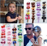 beckham set - Xmas Boutique Harper Seven Beckham princess bows Storage tape set combination hair clip orderly display shelves Ribbon Holder Hairpin HD3391