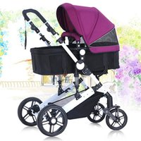baby strollers china - Baby cars china cheap light folding pushchair portable umbrella cart trip newborn child stroller pram carriage high landscape