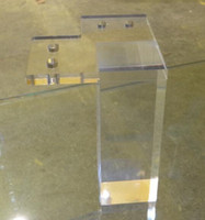acrylic table legs - Furniture legs in acrylic lucite plexiglass materials Hig end furniture table legs Modern style furniture parts accessory New trend