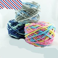 Wholesale 150g A Ball of Wool Scarf Milk Cotton Yarn Thick Sweater Scarf Hat Hand Material Other Knitting Process