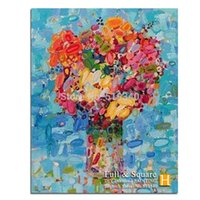 abstract cross paintings - Romantic DIY Diamond Mosaic Pictures For Living Room Abstract Flowers Rainbow HandMade Diamond Paintings Cross Stitch Kits