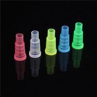 Soulton en verre de gros en plastique à usage unique Hookah bouche Shisha Bouche Conseils 100pcs / Pack coloré jetable caché bouche conseils MT-006
