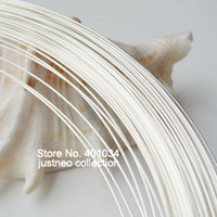 awg solid wire - silver wire meter mm guage AWG solid sterling silver wire for jewelry DIY sterling silver beading wire findings