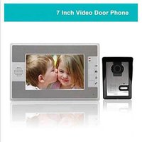 Wholesale 7 Inch Color TFT LCD Video Door Phone with TVL Night Vision Camera