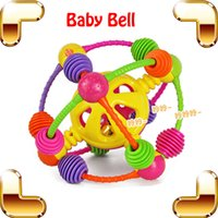 bell help - Christmas Gift Baby Climbing Bell Ball Kids Education For Crawl Toys Ring Bell Touch Tool Learning Action Help Baby Adapt