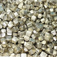 Wholesale EMS Natural mm Raw Geometric Pyrite Cubes Gold Crystal fools gold mine raw pyrite stones natual