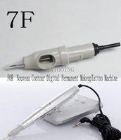 Wholesale 50Pcs D G F Permanent Makeup Cartridges Needles For Nouveau Contour Digital Permanent Makeup Tattoo Machine Tattoo Supply