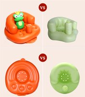 baby white stool - Inflatable Children s Chair Baby Sofa Kids Chair Baby Sofa Inflatable Kids Children Toddlers Learn stool Chair Training Bath Seat