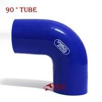 Wholesale 57MM inner diameter of the high temperature blue car modified intake SARCO Sport Silicone degree joints