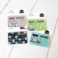 Wholesale 24837 Korea stationery new Green Square One Catcher calculator card