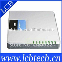 Wholesale Linksys SPA Internet SIP VoIP Gateway with FXO RETAIL
