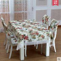 Wholesale tabel cloth toalha de mesa para festa European fashion style tablecloth table polyester tablecloths