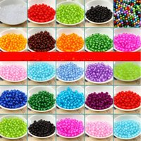 Wholesale Hot selling mm Acrylic Scattered Beads for Ornaments Bags Bead DIY Bracelet Accessories Decorations color in stock