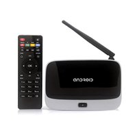 Wholesale New Arrival Android TV Box Q7 CS918 Full HD P RK3188T Quad Core Media Player GB GB XBMC Wifi Antenna with Remote Control V763