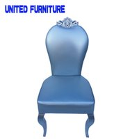Wholesale Luxury hotel chair restaurant stool leather chair hotel furniture Synthetic leather dining room chair furniture colors option