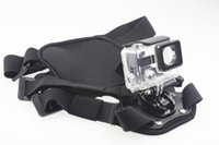 Wholesale F11179 C Waterproof Protective Housing Case Pet Dog Fetch Mount Harness Chest Back Belt Buckle Strap for GoPro Hero3