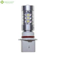Wholesale Sencart W Daytime LED Running Light P13W PG18 D1 CREE XP E Fog Light Car Turn Signal Light LM K Yellow White