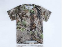 Wholesale quick dry BROWNING CAMO T Shirt for Men for Hiking Hunting T shirt Fishing T shirt Retail wholesales realtree