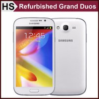 Wholesale DHL Original Samsung GALAXY Grand DUOS i9082 Refurbished Android Smart Phone quot G Network Dual Core Dual SIM Standby Unlocked Cellphone