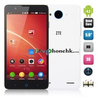 Cheap ZTE V5 Red Bull 3G Smartphone Snapdragon MSM8226 Quad Core 2GB 8GB 13.0MP Android 4.2 WCDMA