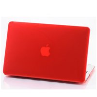 Wholesale Rubberized Frosted Matte Hard Shell Apple Laptop Cases Full Body Protector Case Cover For Apple Macbook Air Pro quot quot quot Inch