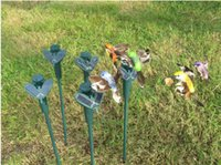 solar Hummingbirds - New Solar hummingbirds butterflies garden toys students enlightenment educational toys solar and battery combo HX