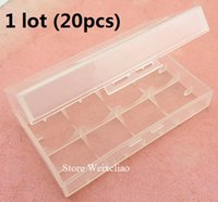 Wholesale 18650 cr123 lithium battery box moisture proof box storage box