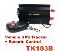 anti theft system in car - Professional Vehicle Car GPS Tracker TK B with Remote Control oil power cut off anti theft car alarm system in retail box