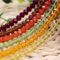 Wholesale HOT mm crystal Loose beads Translucent DIY craft accessories beads charm bracelets necklaces Fashion jewellery cheap jewelry AL