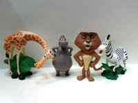 articles for children - DHL Cheap Madagascar doll toys for kids toys articles lions giraffes the hippo package opp package Children Christmas Gift