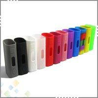 bags - Eleaf Ismoka Silicone Case For Istick w Istick w Mini Case Colorful Istick Skin Silicon Cases Bag w Box Mod e Cig Bag DHL Free