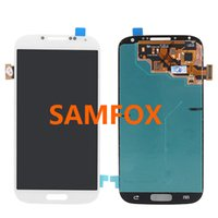Wholesale High Quality A LCD Display Touch Screen Digitizer Full Assembly for Samsung Galaxy S4 DHL Promotion
