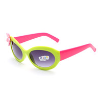 beach boys kids - Hot Fashiion Kids Lovely Sunglasses Outdoor Camping Hiking Girls Boys Trendy UV400 protection Summer Beach Glasses Bright Colors