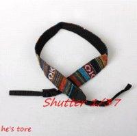 adjustable leather strap camera - Adjustable Cotton Yard Camera Shoulder Neck Strap Belt for DSLR Nikon Canon Sony strap leather strap belt