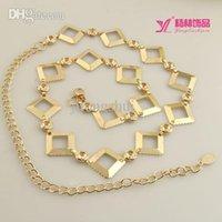 Métal rodage Avis-La chaîne de taille de gros-Nouvelles femmes de la mode. livraison gratuite sauvages femmes diamant marquetés décoratifs crochets tour métallique