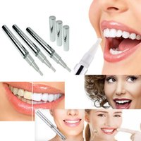 Cheap Teeth Whitening Pen Soft Brush Dazzling Teeth Whitening Bright Bleaching Whitener Gel Pen Remove Stain Kit Gold silver Teeth Whitening Pen