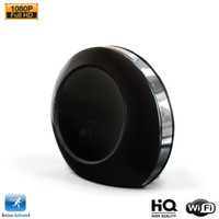 Wholesale Wireless wifi Clock Camera with Alarm Clock HD P2P Surveillance Security Mini Camera Gear Mini Cam for iPhone iOS Android