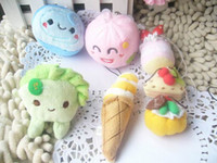 Wholesale Plush toy dolls doll mug up food ice cream cake small
