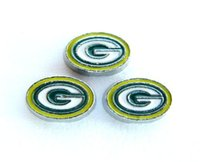 Wholesale 10pcs Football Packers Floating locket charms Fit floating charms FC721
