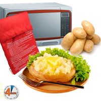 Wholesale Hot sale Oven Microwave Baked Red Potato Bag For Quick Fast cook potatoes at once In Just Minutes Washed Potato Bags