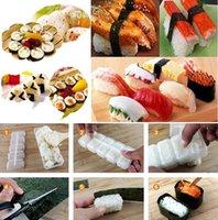 Wholesale 1 Japan Nigiri Sushi Mold Rice Ball Rolls Sushi Maker Non Stick Sushi Bento Press Tool