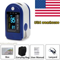 Wholesale CMS50D Fingertip Pulse Oximeter SPO2 PR Monitor CONTEC CE FDA From USA
