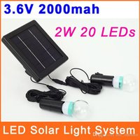 IP65 camping light - Solar Powered Lamps System Kit for Camping LED Portable Outdoor EmergencyLighting Sun Light OSL010
