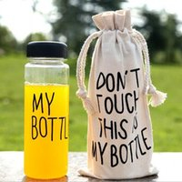 bags sports direct - My bottle Fruit Lemon Juice water Bottle Korea Style Today Special Plastic Sports Water Bottles Drinkware With Bag